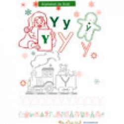 """""""Y"""", une lettre de l'alphabet à colorier"""