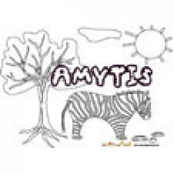 Amytis, coloriages Amytis