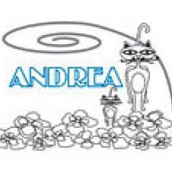 Andrea, coloriages Andrea