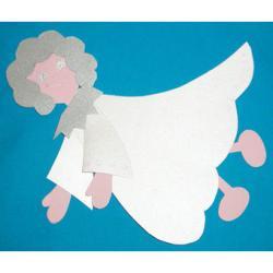 Ange de Noël décoration en papier