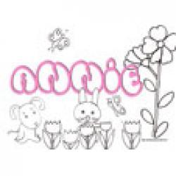 Annie, coloriages Annie