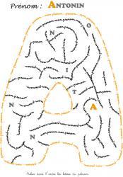 labyrinthe antonin