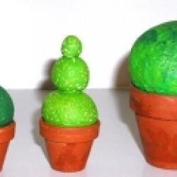 Fabriquer des arbustes en p&acirc&#x3B;te &agrave&#x3B; sel
