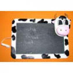 Modelage d'une ardoise vache