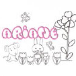 Ariane, coloriages Ariane