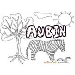 Aubin, coloriages Aubin