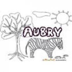 Aubry, coloriages Aubry