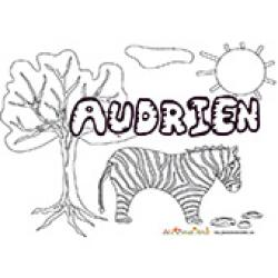 Audrien, coloriages Audrien