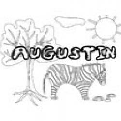 Augustin, coloriages Augustin