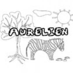 Aurelien, coloriages Aurelien
