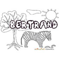 Bertrand, coloriages Bertrand