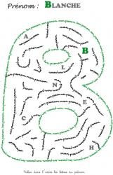 labyrinthe blanche