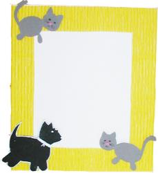 Fabriquer un cadre chats