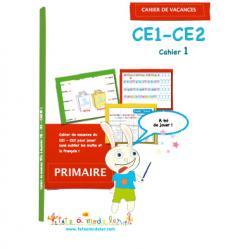 Cahier de vacances CE1 CE2