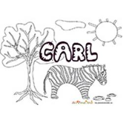 Carl, coloriages Carl