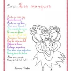 poeme carnaval