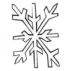 Coloriages de Noël 16 : étoile
