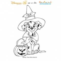 Coloriages Halloween Disneyland Paris