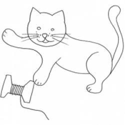 Coloriage de chat