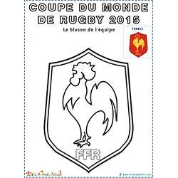 Coq symbole de l'équipe de rugby de France