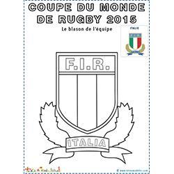 Blason de l'équipe d'Italie de rugby