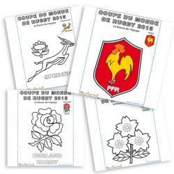 Blasons et symboles des équipes de Rugby