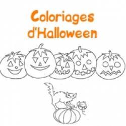 Des coloriages d' Halloween à imprimer