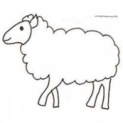 Coloriage du mouton