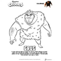 Coloriages Les Croods
