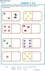 Exercices et activités de maths pour les enfants de la maternelle