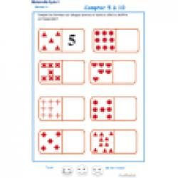 Compter avec les dominos