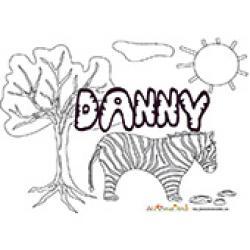 Danny, coloriages Danny