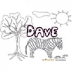 Dave, coloriages Dave