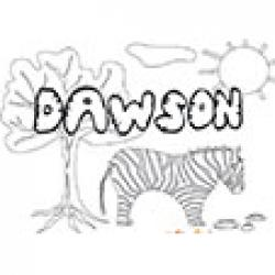 Dawson, coloriages Dawson