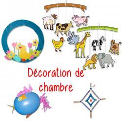 Idées de bricolages de décoration de chambre enfant