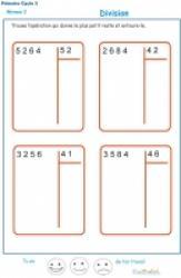 Exercices et activités de maths primaire cycle 3 CE2