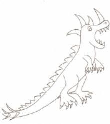 Coloriages et dessins de dinosaures