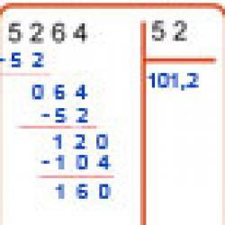 quotient décimal au dizième d'une division