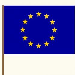Activité pour fabriquer le drapeau de l'Union Européenne