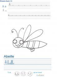 Exercices d'écriture pour le CP - livre 3