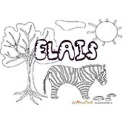 Elais, coloriages Elais