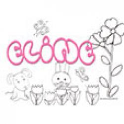 Eline, coloriages Eline