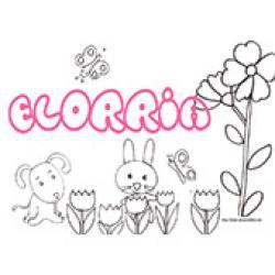 Elorria, coloriages Elorria