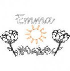 Emma, coloriages Emma