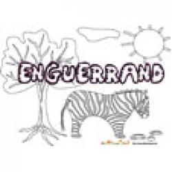Enguerrand, coloriages Enguerrand