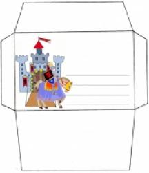Enveloppe du chevalier violet