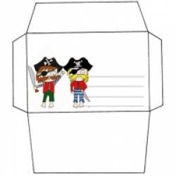 Enveloppes d'anniversaire à imprimer