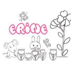 Erine, coloriages Erine