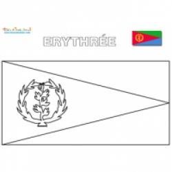Les drapeaux d'Afrique, coloriage des drapeaux d'Afrique