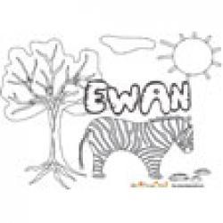 Ewan, coloriages Ewan